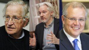 Assange Chomsky